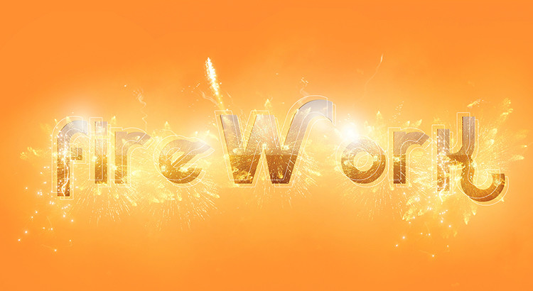 Firework Text tutorial by nagiViTy