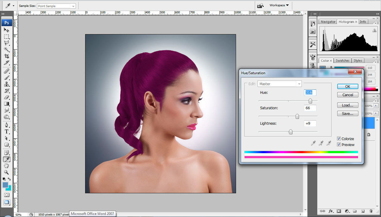 Extract hair photoshop cs4 tutorial change hair color dont forget to like or share our extract hair photoshop cs4 tutorial baditri Image collections