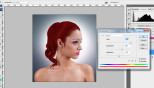 Extract Hair Photoshop CS4 Tutorial