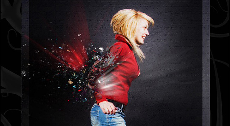 Shattering Photo Manipulation in Photoshop CS5
