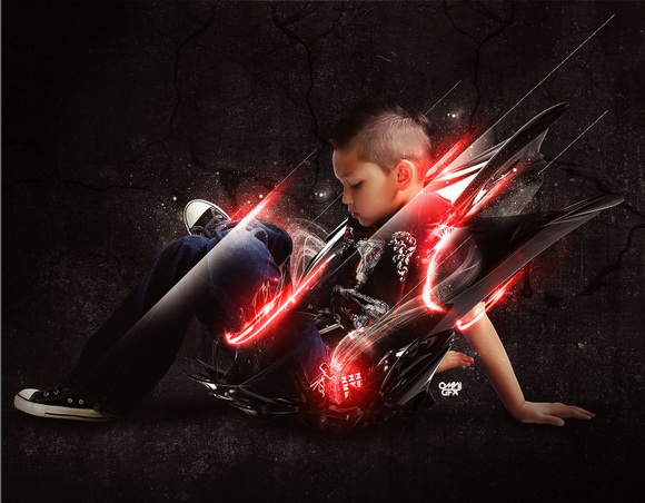 Top 10 best photoshop tutorials this week 005 achieve brilliant lighting effects in photoshop publicscrutiny Images