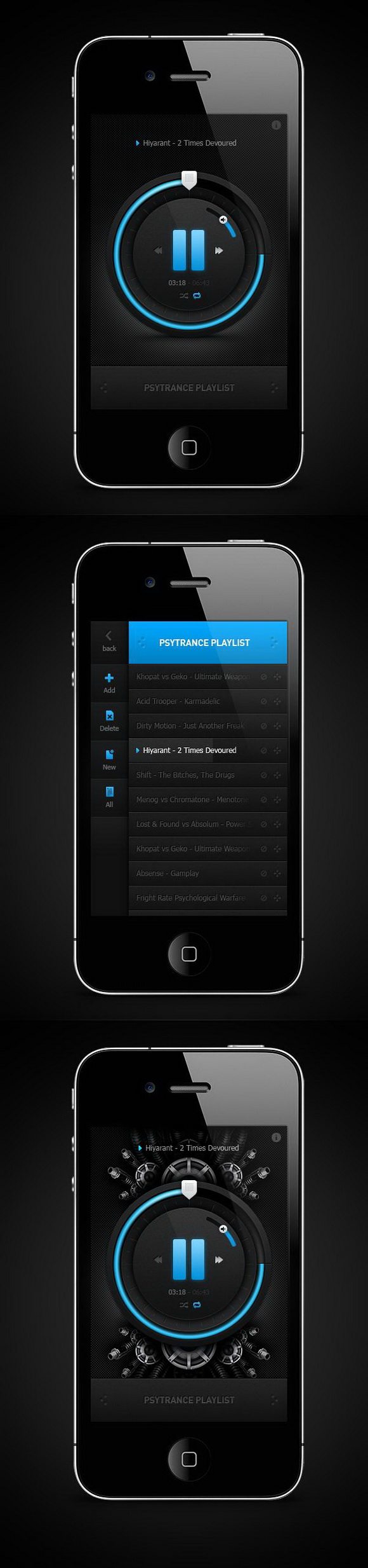 iphone-music-player