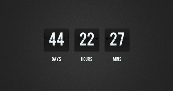 Flip-Clock-Countdown-PSD
