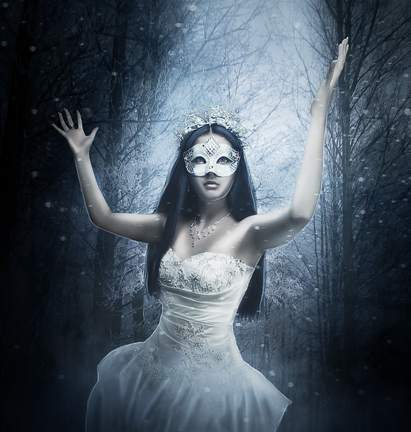 How to Create a Stunning Winter Princess Artwork in Photoshop
