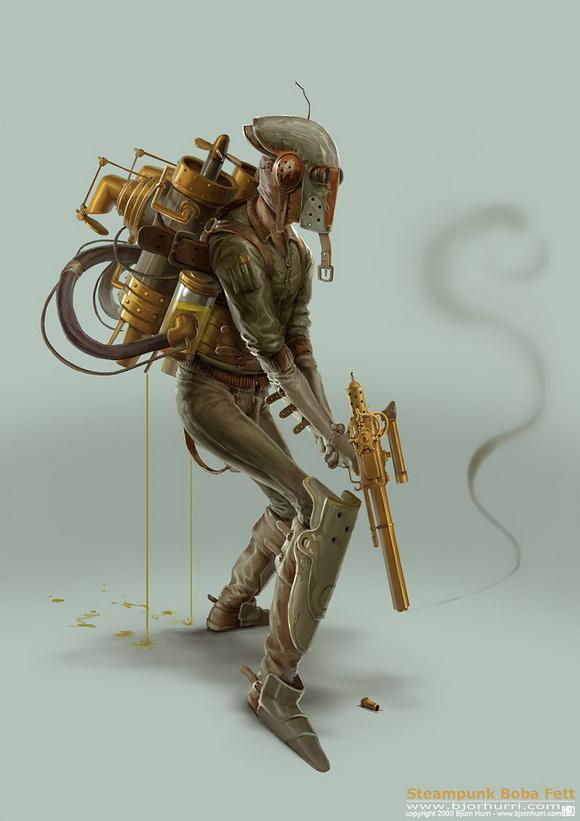 Steampunk-Star-Wars---Boba-Fett