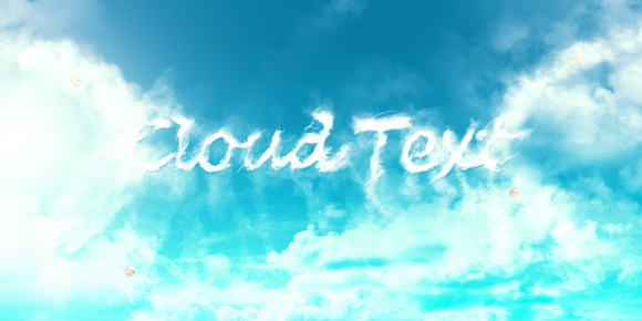 Design an Interesting Cloud Text Effect in Photoshop CS6