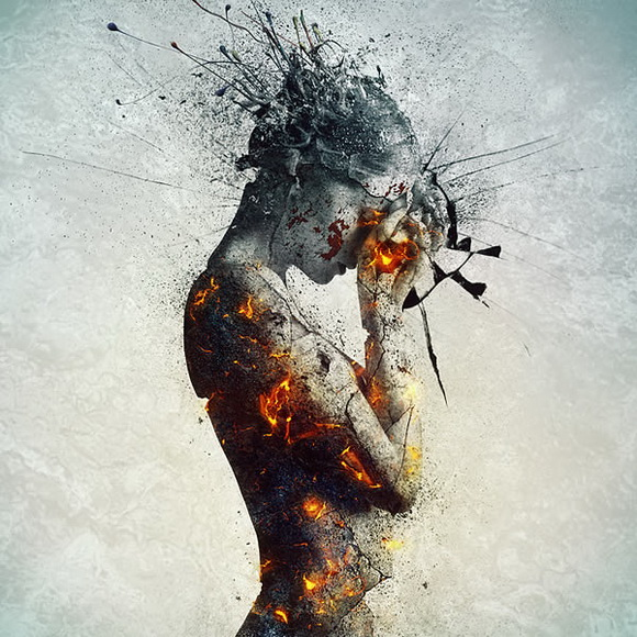 Create an Emotional, Molten, Shattered Statue in Photoshop