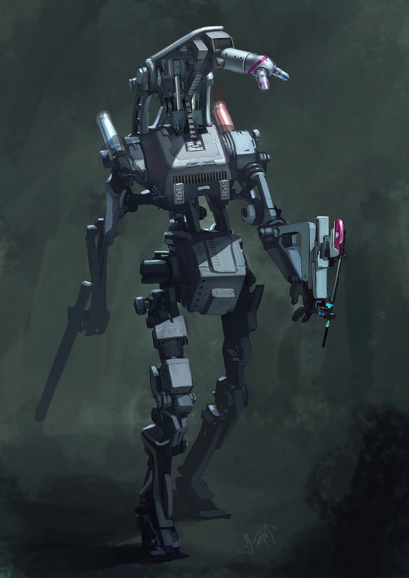 create-digital-painting-of-robot-mech