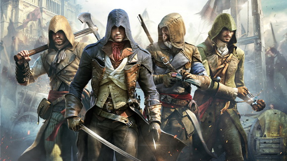 Assassins Creed Unity background