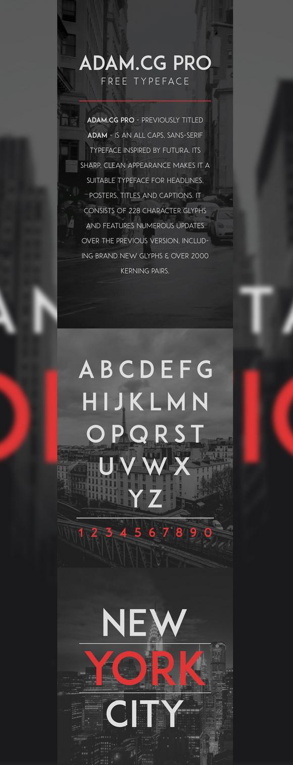 ADAMCG-PRO-Free-Typeface