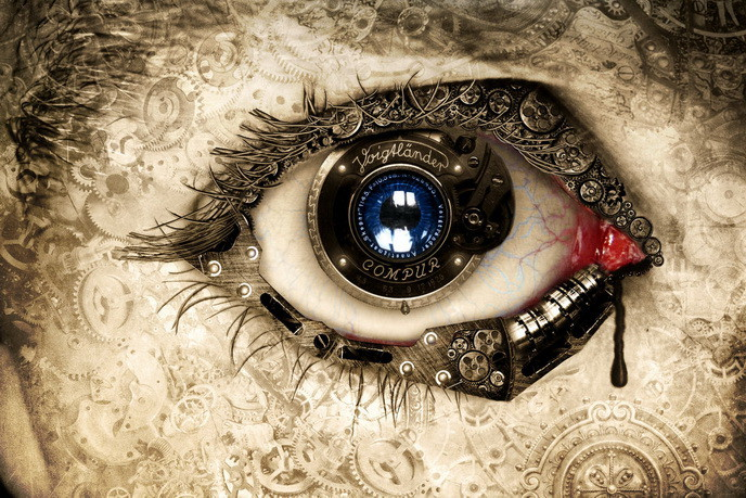 steampunk wallpaper eye - photo #3
