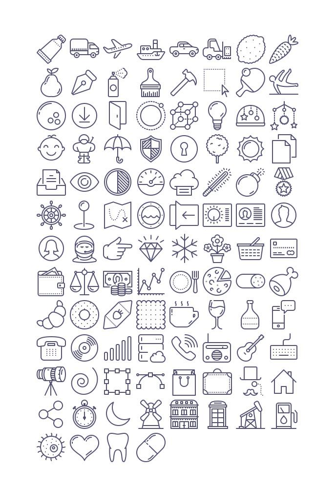 Unigrid-Icons-Free