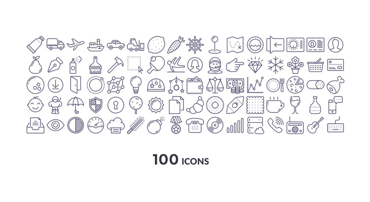 Unigrid-Icons-Free-preview