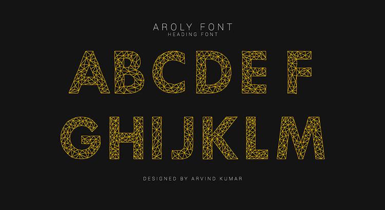 free font 002