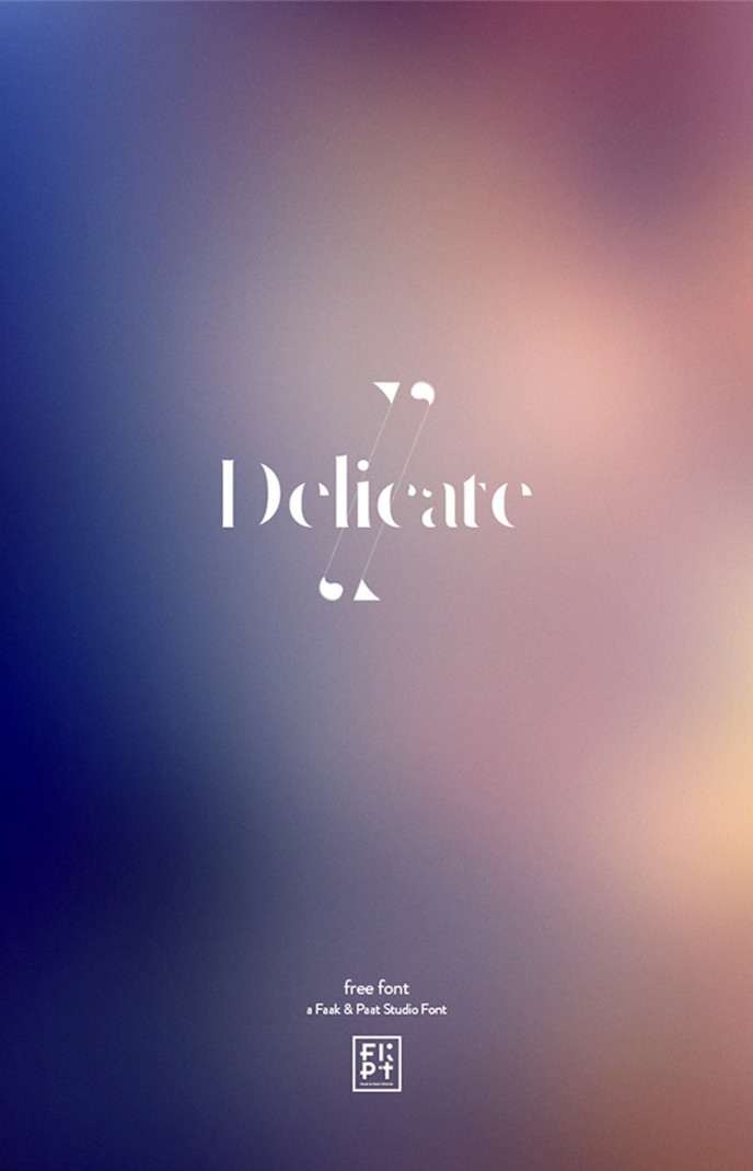Delicate-free-typeface