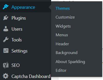 Appearance - Themes