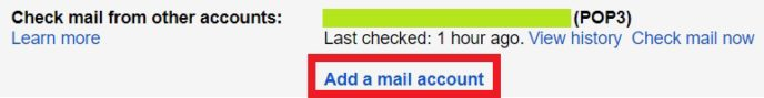 Check mail from other accounts