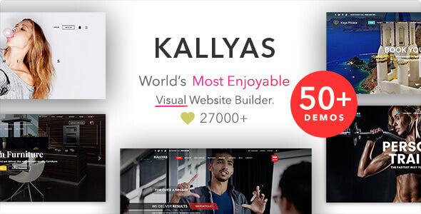 KALLYAS - Creative eCommerce Multi-Purpose WordPress Theme 1
