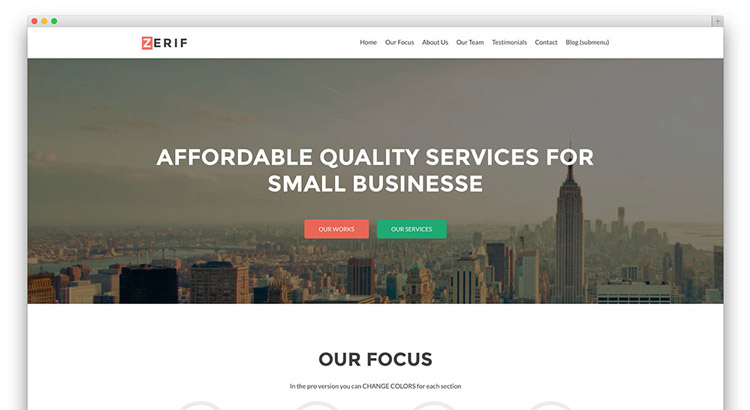 Zerif-lite-free-wordpress-theme