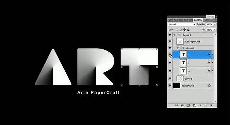 PaperCraft Photoshop