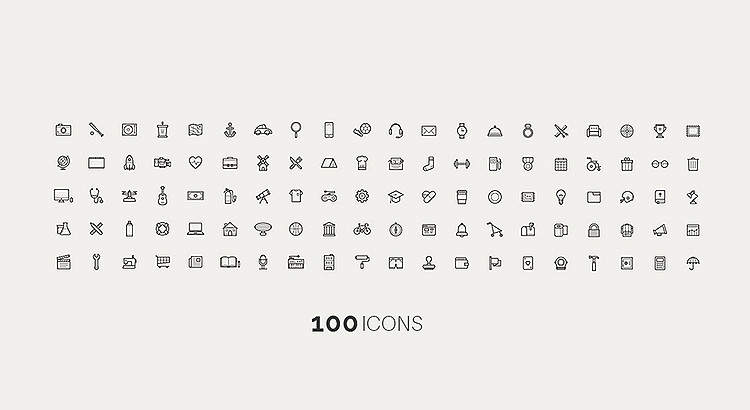 SungJin-Kim-100-FREE-ICONS