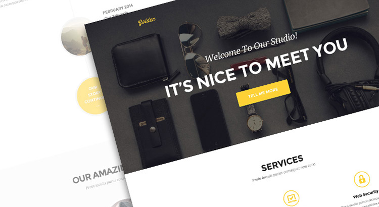 golden-one-page-psd-theme