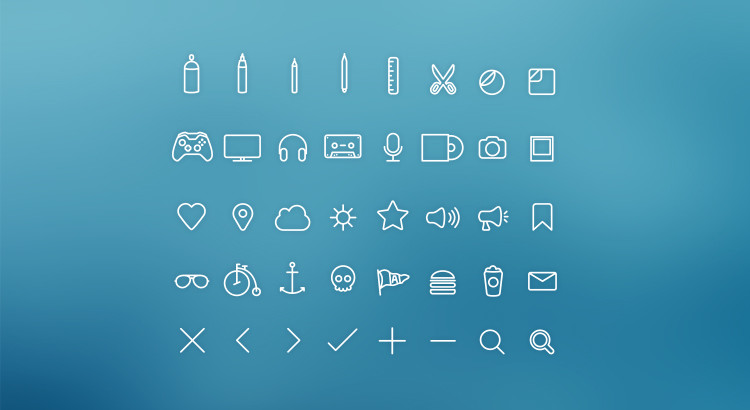 hangloose-iconset-preview